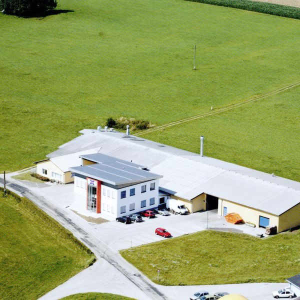 Construction of a new administrative building in Peuerbach.